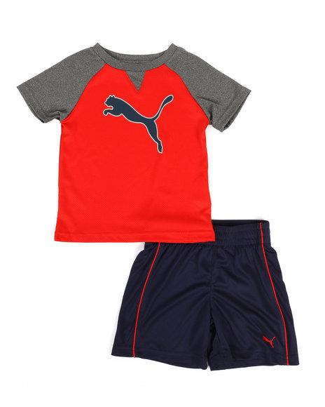 Puma - Poly Performance Tee & Shorts Set (2T-4T)