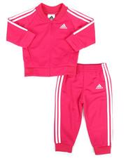 Girls - Adidas Tricot Track Set (0-24MO)-2329110