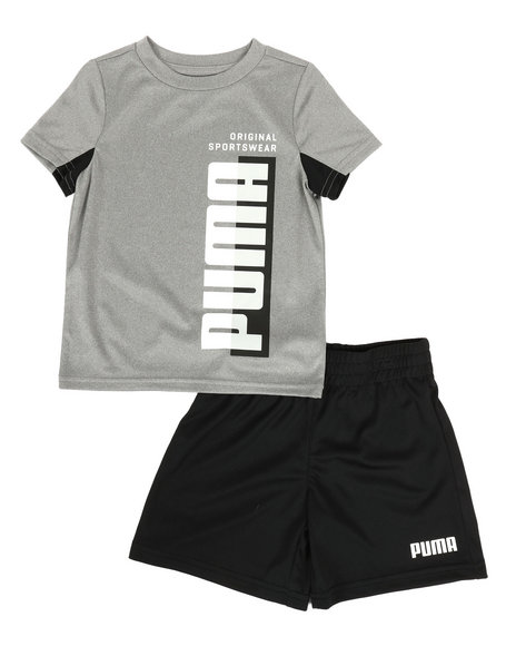 Puma - Performance Tee & Shorts Set (2T-4T)