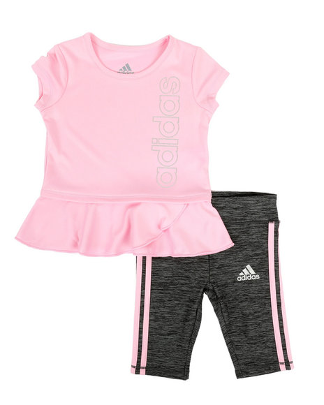Adidas - 2 Piece Capri Legging & Top Set (0-24MO)