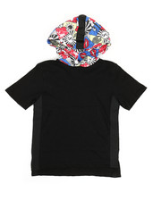 NOTHIN' BUT NET - Slub Cotton Hoodie W/ Graphic Print (8-20)-2329656