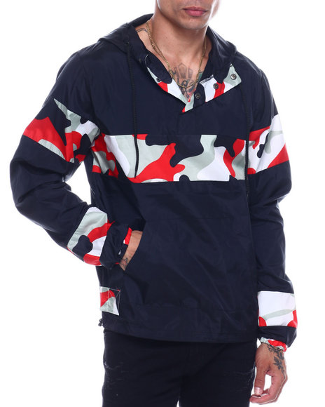 Buyers Picks - CAMO COLORBLOCK WINDBREAKER
