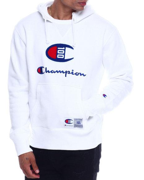 Champion - Century Chenille Patch Hoody