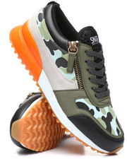 SNKR PROJECT - Rodeo Camo Low Cut Sneakers-2335797