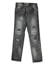 Bottoms - Ripped & Repair Denim Jeans (8-20)-2334002