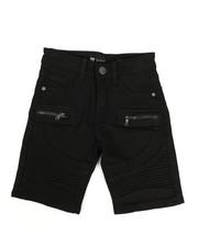 Bottoms - Moto Denim Shorts (8-20)-2338423