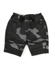 Sizes 2T-4T - Toddler - Camo Print Moto Shorts (2T-4T)-2335095