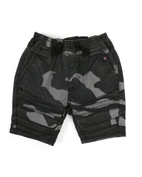 Phat Farm - Camo Print Moto Shorts (2T-4T)