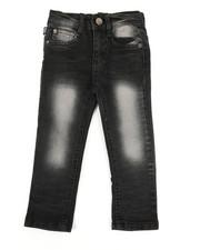 Jeans - Embossed Pocket Jeans (2T-4T)-2334058