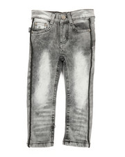 Bottoms - Piping Jeans (2T-4T)-2334009
