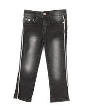 Bottoms - Piping Jeans (2T-4T)-2334013