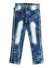 Bottoms - Piping Jeans (4-7)-2334017
