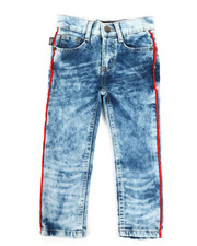 Bottoms - Piping Jeans (2T-4T)-2334049