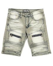Bottoms - Denim Stretch Shorts (8-20)-2337231