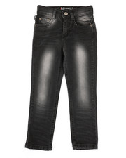 Akademiks - Embossed Pocket Jeans (4-7)-2334072