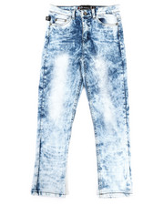 Bottoms - Embossed Pocket Jeans (8-18)-2334144