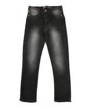 Bottoms - Embossed Pocket Jeans (8-18)-2334077