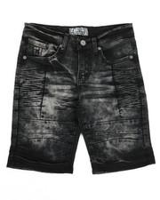 Bottoms - Denim Stretch Shorts (8-20)-2337247