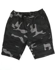 Bottoms - Camo Print Moto Shorts (8-20)-2335099