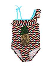Swimwear - Pineapple Swimsuit (4-6X)-2336965