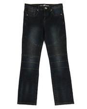 Bottoms - Stretch Moto Denim Jeans (8-20)-2335120