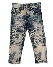 Arcade Styles - Stretch Moto Jeans (2T-4T)-2334853