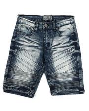 Bottoms - Denim Stretch Shorts (8-20)-2336998