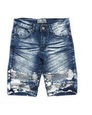Bottoms - Denim Stretch Shorts (8-20)-2337225