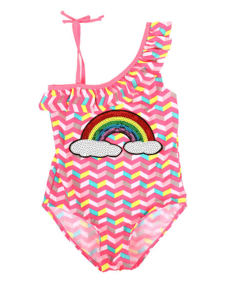 Delia's Girl - Rainbow Swimsuit (7-16)