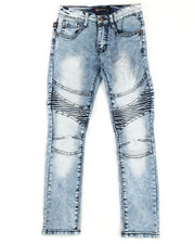 Bottoms - Moto Stretch Jeans (8-18)-2334487