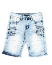 Bottoms - Denim Stretch Shorts (8-20)-2337203