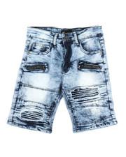 Shorts - Moto Denim Shorts (8-20)-2337627