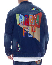 Big & Tall Faves - Hokies Denim Jacket (B&T)-2337835