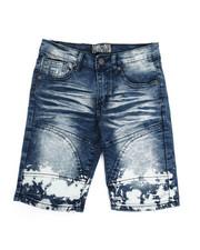 Bottoms - Denim Stretch Shorts (8-20)-2337219