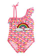 Swimwear - Rainbow Swimsuit (4-6X)-2336978