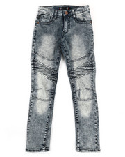 Bottoms - Moto Stretch Jeans (8-18)-2334459