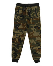 Bottoms - Fleece Camo Jogger Pants (8-20)-2335446