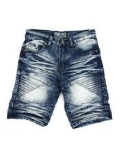 Bottoms - Denim Stretch Shorts (8-20)-2337008