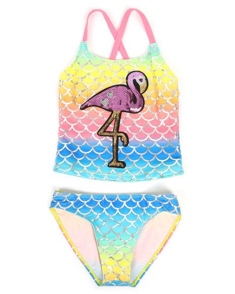 Delia's Girl - Flamingo Two-Piece Swimsuit (7-16)