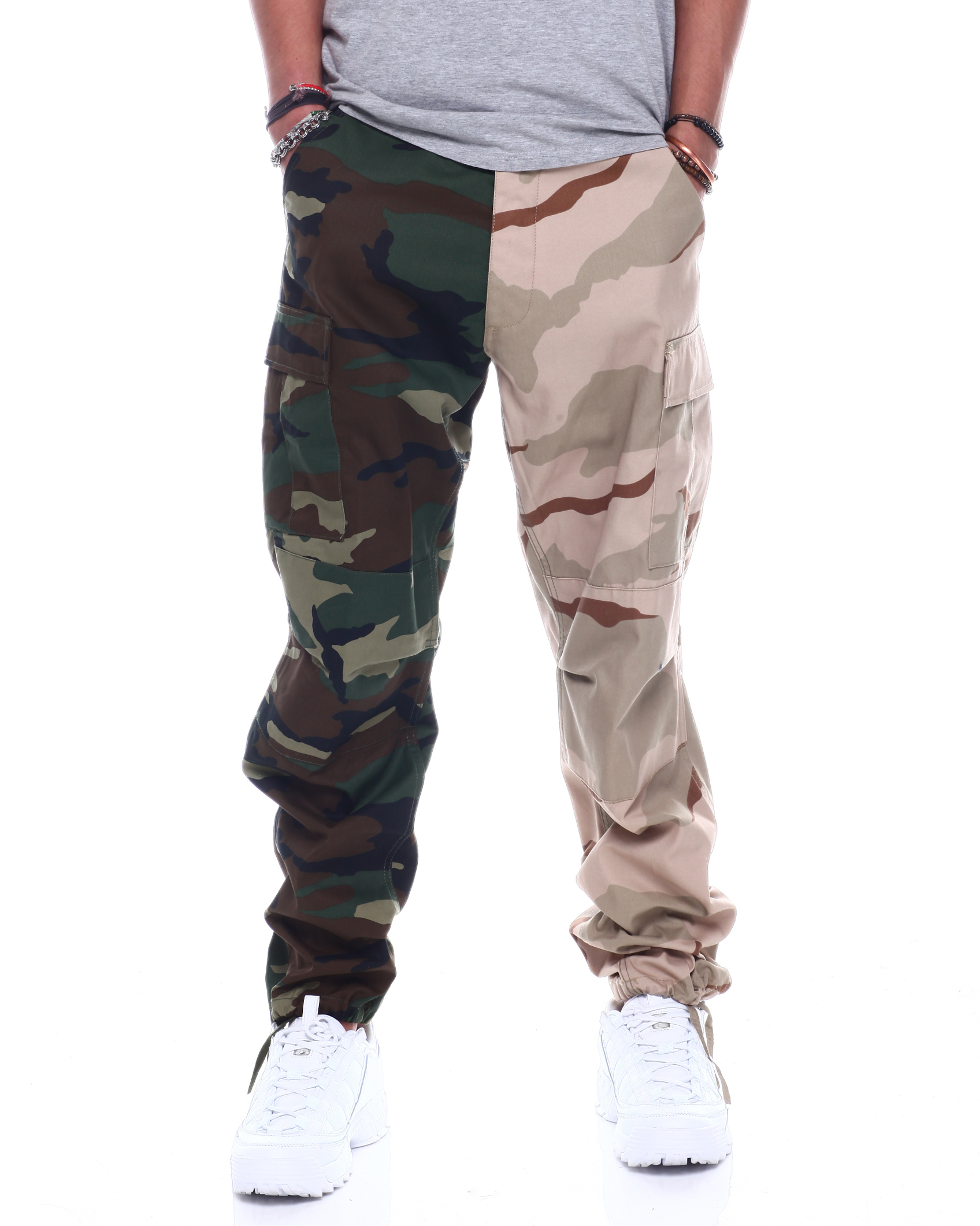 cargo style pants jeans BDU leather trousers