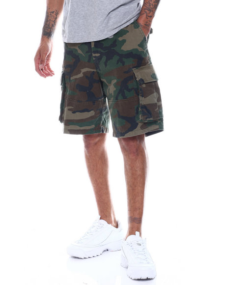 4bc37ffaa4 Buy Rothco Vintage Camo Paratrooper Cargo Shorts Men's Shorts from ...