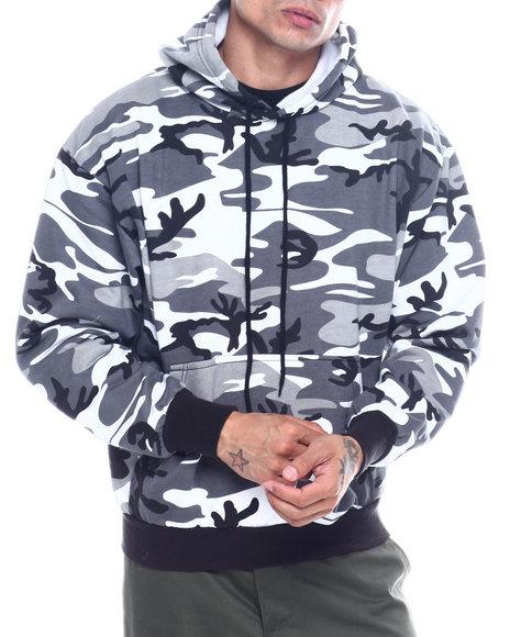 Rothco - Rothco Camo Pullover Hooded Sweatshirt