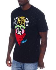 Shirts - DISRESPEKFUL TEE W/CHENILLE ACCENTS-2338803