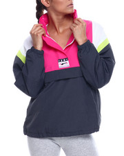 Women - 90s Retro Windbreaker-2338507