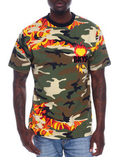 Shirts - WILDFIRE TEE W/CHENILLE ACCENTS-2338877