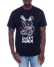 Buyers Picks - LUCKY CHARM TEE W/CHENILLE PATCH-2338727