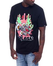 Shirts - SPLASH TEE W/DENIM ACCENTS-2338836