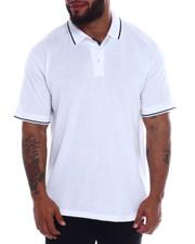 Men - Tip Collar S/S Knit Top (B&T)-2334943