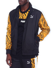 Outerwear - TIGER PANEL ZIP JACKET-2339836