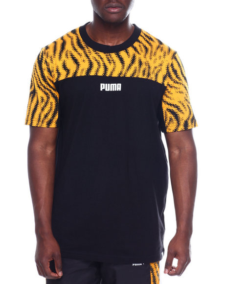 Puma - TIGER PRINT TEE